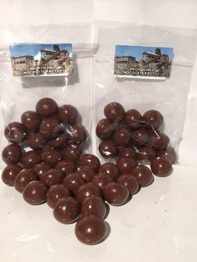 CHOCOLATE RASPBERRY SHOTS 120gm