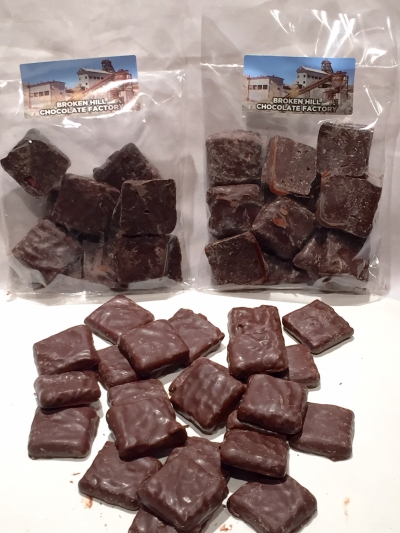 DARK CHOCOLATE CHERRY BITES 130gm