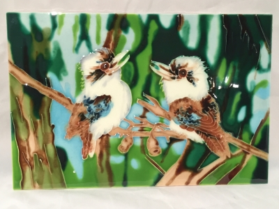 KOOKABURA CERAMIC 300mm X 200mm WALL HANGING