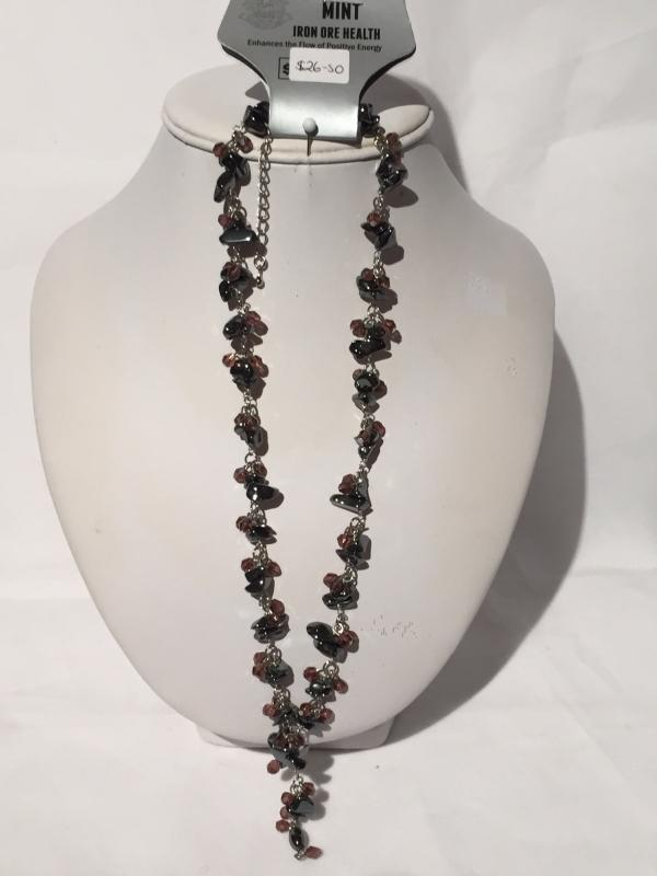 <span>Jewellery</span>Iron Ore Necklaces