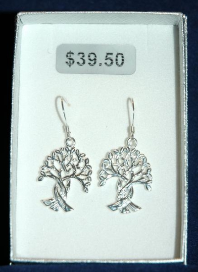 TREE OF LIFE EARRING - CONGO