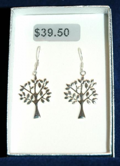 TREE OF LIFE EARRINGS- CAMEROON