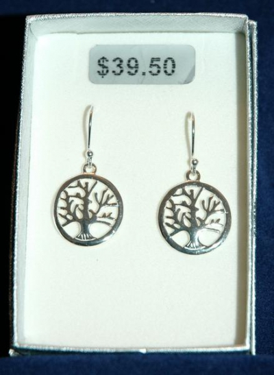 TREE OF LIFE EARRING - DOMINICA