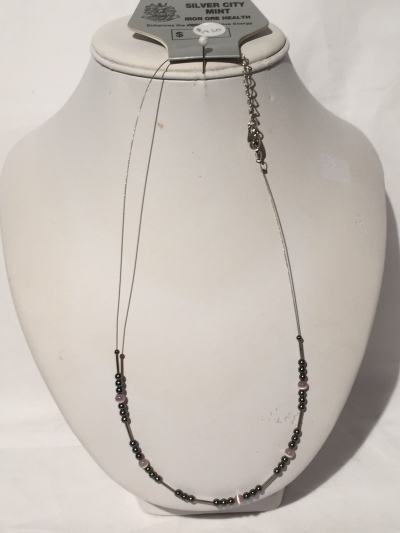 IRON ORE NECKLACE 18