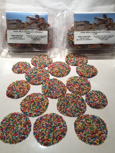 CHOCOLATE SPECKLES 175gm