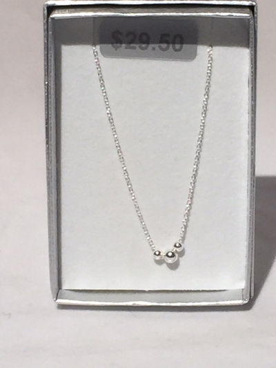 3 SILVER NECKLACE