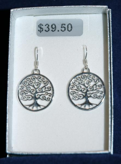 TREE OF LIFE EARRINGS - BULGARIA