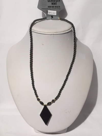 IRON ORE NECKLACE 12