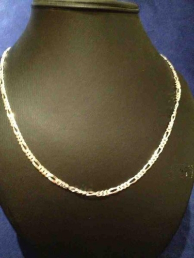 MEN SOLID SILVER CHAIN