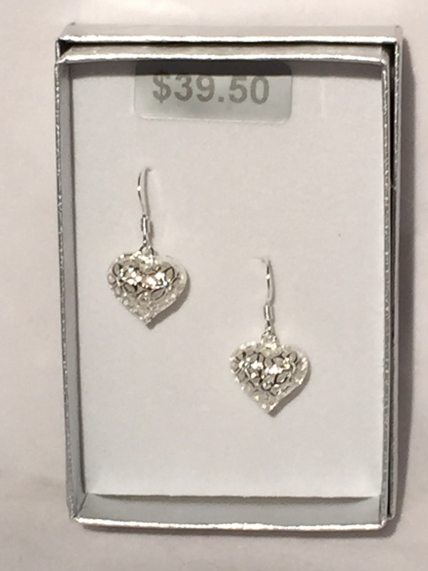 FILIGREE HART EARRINGS